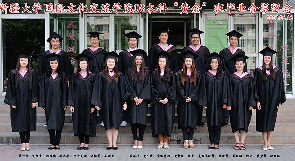 Студентки и выпускницы НГПУ получили дипломы Синьцзянского университета