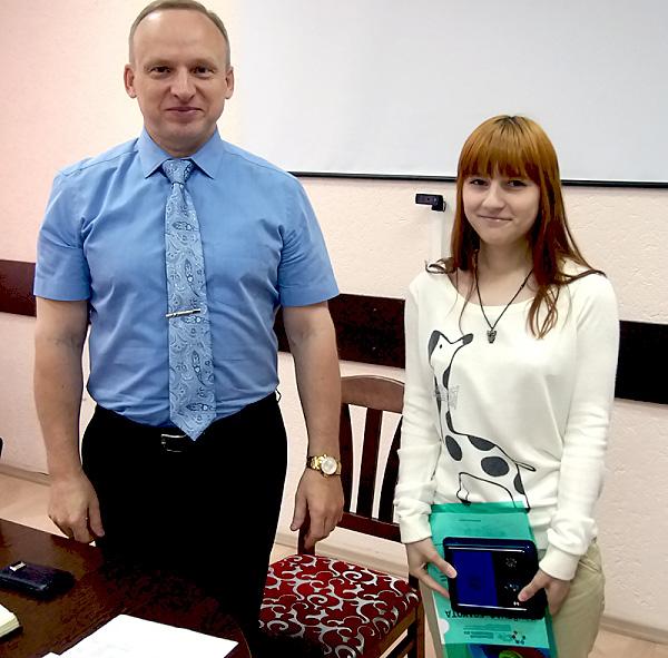 Студенты ФИЯ НГПУ удостоены наград за активную волонтерскую деятельность