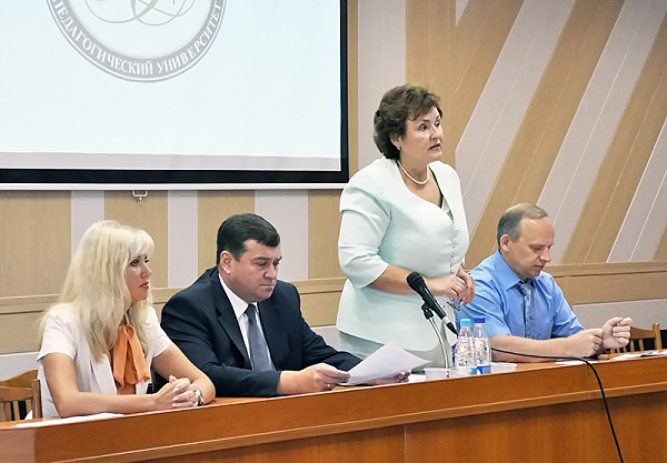 В НГПУ обсудили Стратегию развития образования Центрального округа Новосибирска