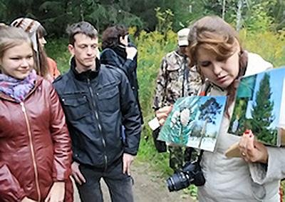 НГПУ организовал экскурсию в Дендрологический парк