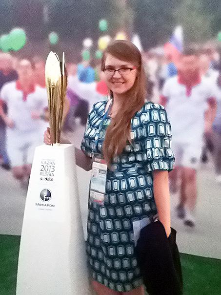 Студентка НГПУ – волонтер Универсиады и Олимпийских игр