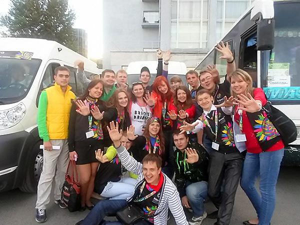 Волонтеры НГПУ получили благодарность оргкомитета «Интерры»