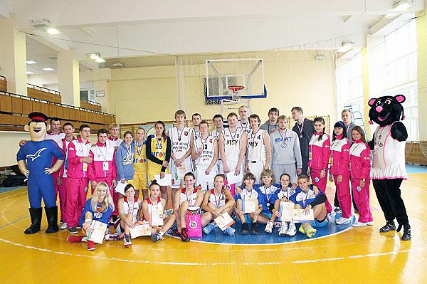 Новые победы НГПУ в баскетболе и стритболе
