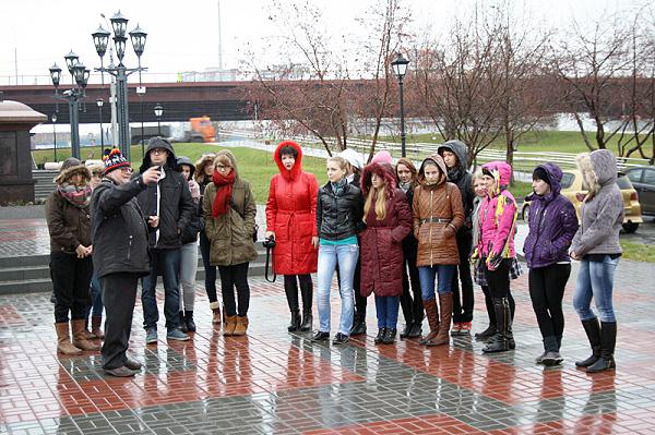 Студенты НГПУ увидели исторический Новосибирск