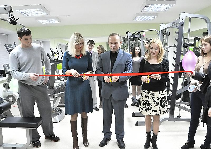 В НГПУ открылся новый тренажерный зал