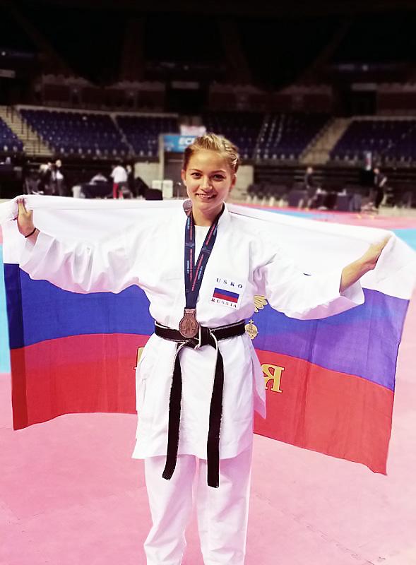 Чемпионат Мира принес спортсменке НГПУ «бронзу»