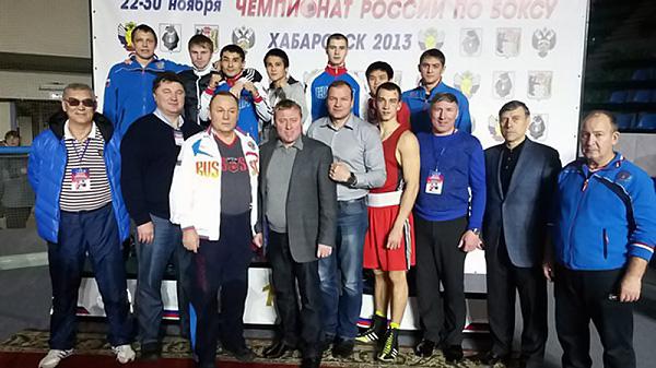 Студенты НГПУ стали призерами Чемпионата России по боксу