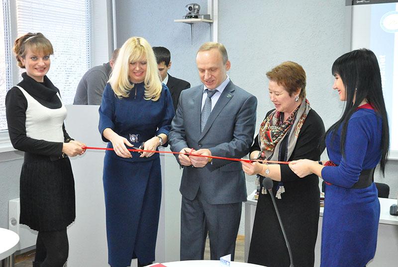 В НГПУ открыли новую интерактивную аудиторию