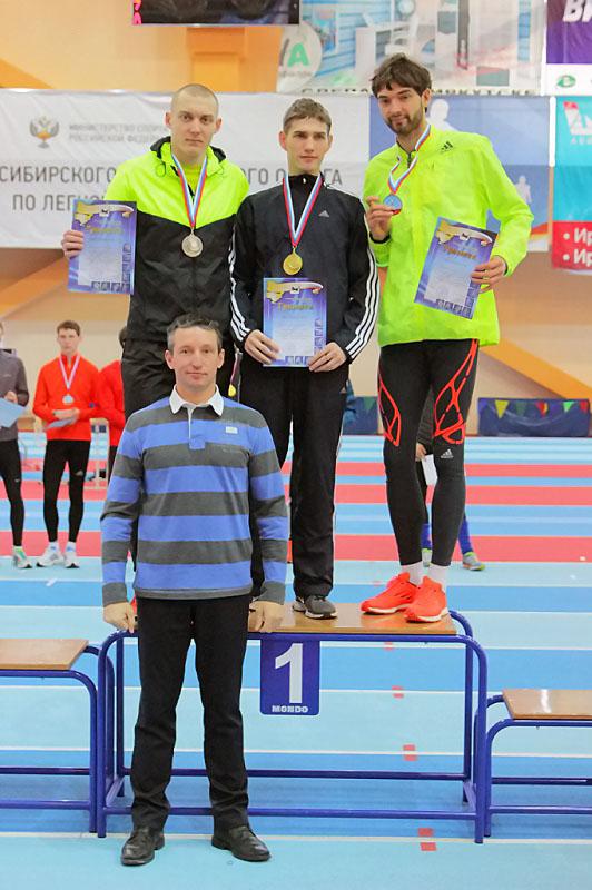Легкоатлеты НГПУ привезли пять медалей с Чемпионата Сибири