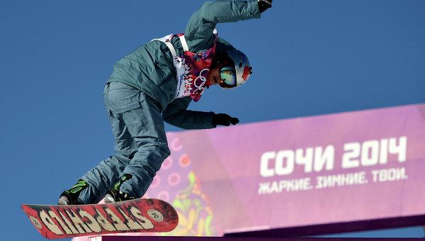 Сноубордист Соболев первым из россиян вступил в борьбу на Олимпиаде
