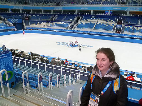 Преподаватель НГПУ – официальный переводчик Олимпиады