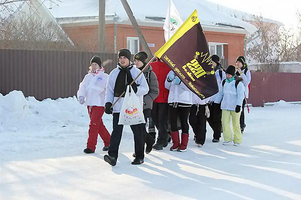 Студенты вернулись из «Снежного десанта»