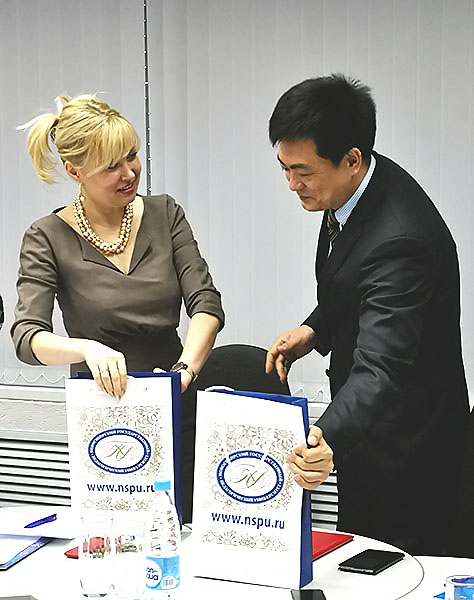 НГПУ увеличивает количество вузов-партнеров в Китае