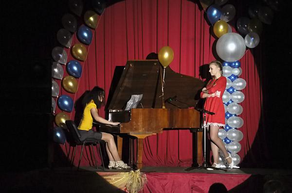 Студенты ИФМИЭО НГПУ выступили с концертной программой