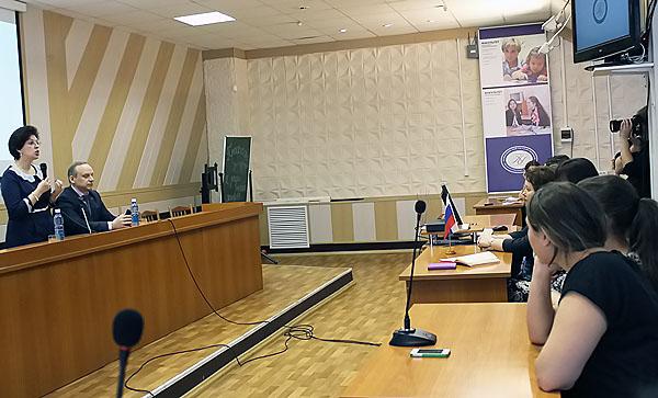 Ирина Мануйлова встретилась с педагогами и студентами НГПУ
