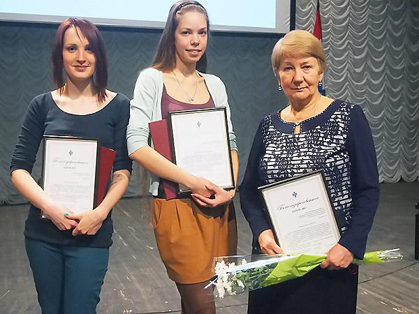 Студентов и преподавателей НГПУ наградили за победы в «Дельфийских играх–2013»