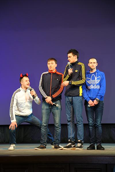 Команда КВН НГПУ – чемпион «Октябрьской лиги»