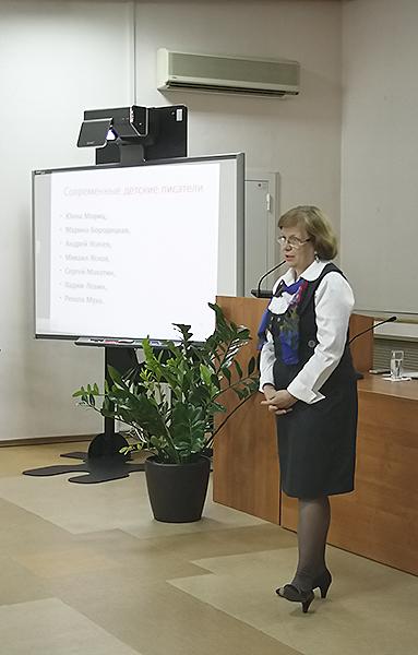 Преподаватель НГПУ прочитала лекцию для родителей в Областной научной библиотеке