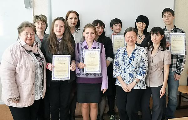 Школьники побеседовали о науке на английском языке в НГПУ