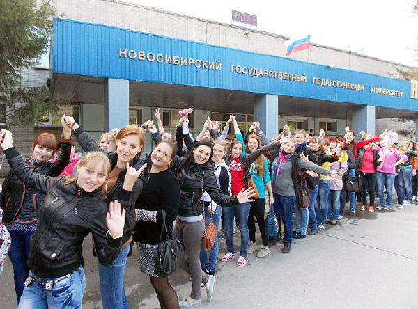 Первокурсники НГПУ вливаются в студенческую жизнь