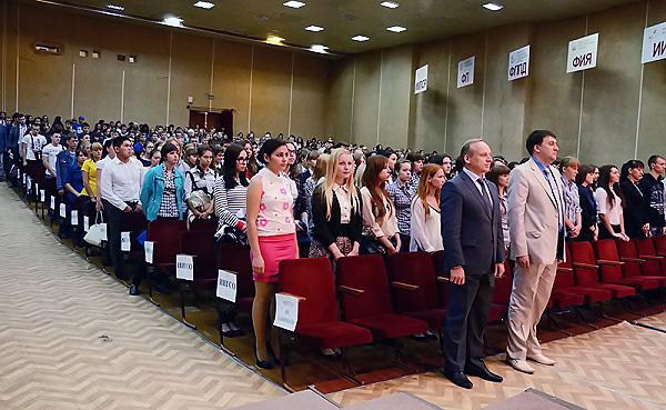НГПУ встречает первокурсников