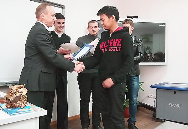 Студенты ИФМИЭО НГПУ приняли участие во всероссийской олимпиаде