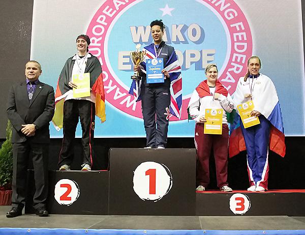 Новосибирская спортсменка завоевала бронзовую медаль Чемпионата Европы по кикбоксингу