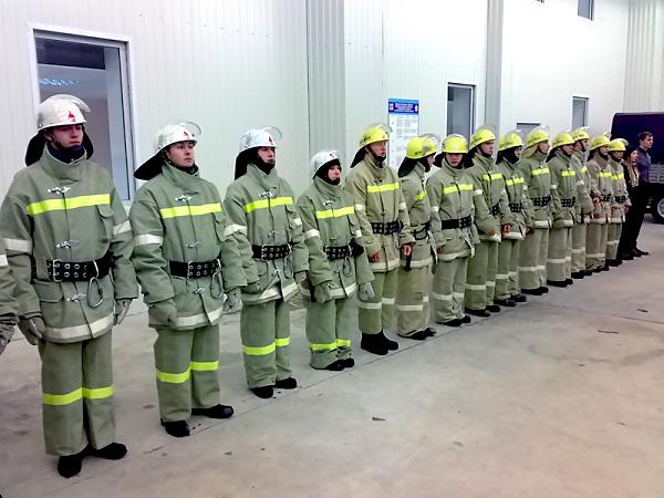 Спасательный отряд НГПУ впервые отметил профессиональный праздник