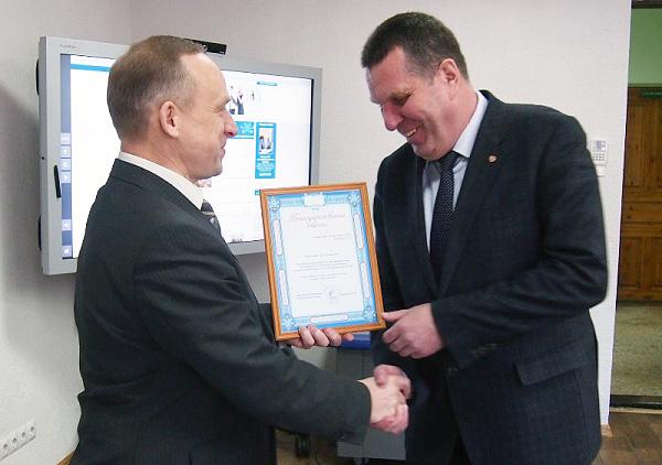 Президент поблагодарил НГПУ за помощь на Универсиаде-2013