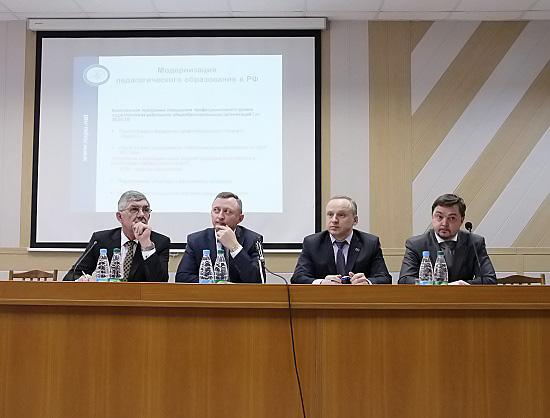 Совет руководителей общеобразовательных организаций Новосибирской области обсудил вопросы школьно-вузовского партнёрства