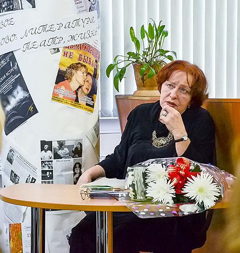 Народная артистка России в НГПУ