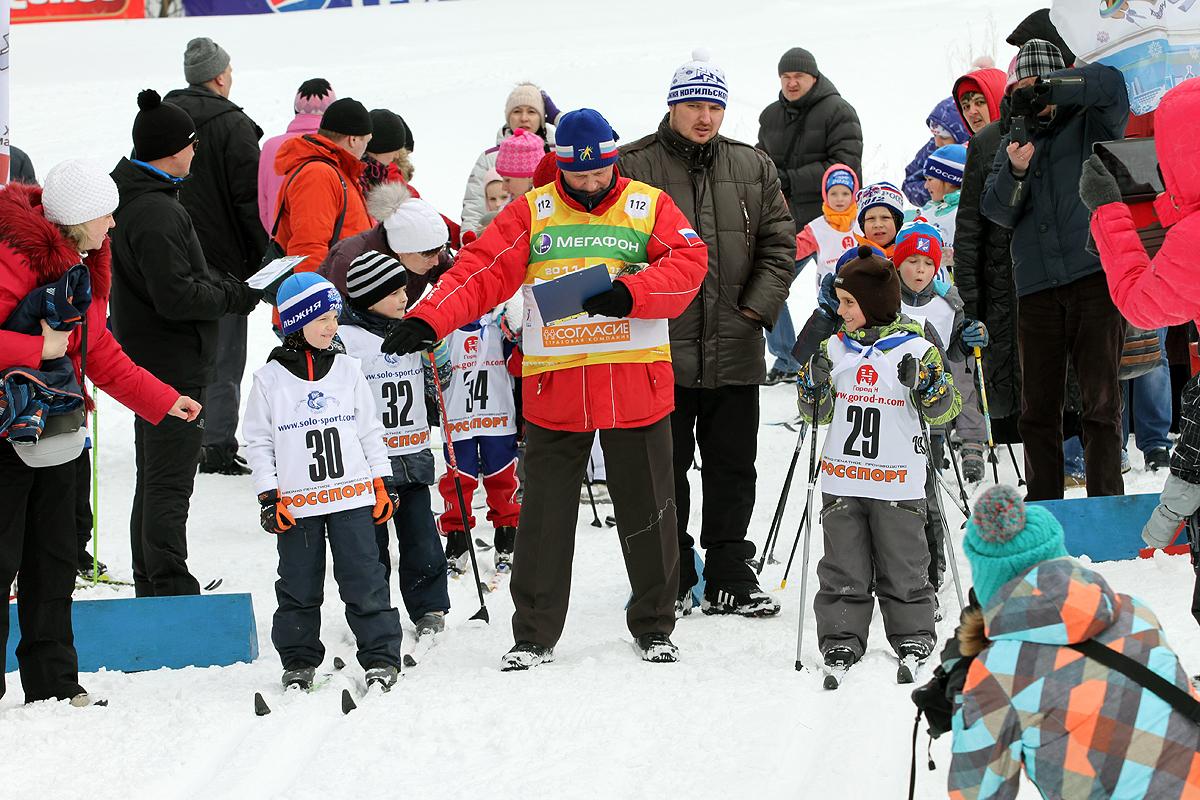 С детства с лыжами дружить – значит по-сибирски жить!