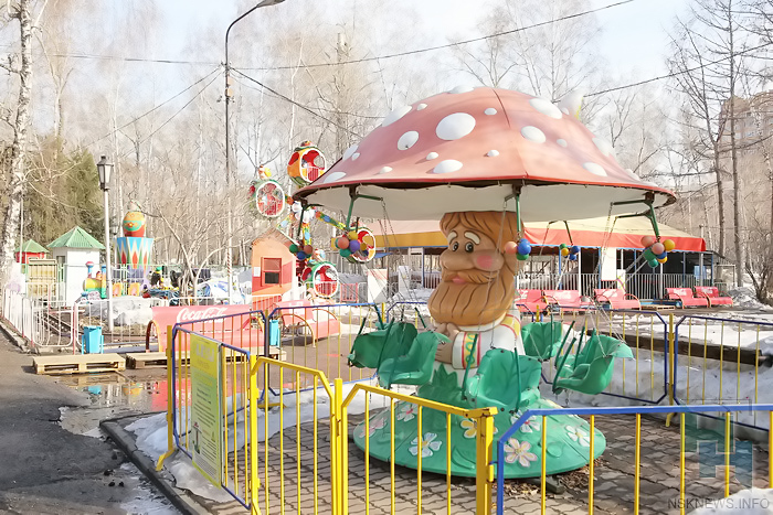 Проверка аттракционов на безопасность пройдет в парках Новосибирска