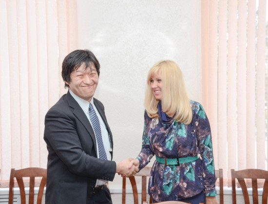 НГПУ и Япония: новые перспективы сотрудничества
