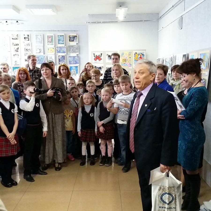 В Новосибирске открылась детская картинная галерея