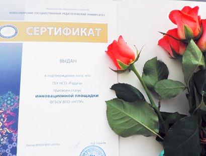 Областной центр «Радуга» признали инновационной площадкой