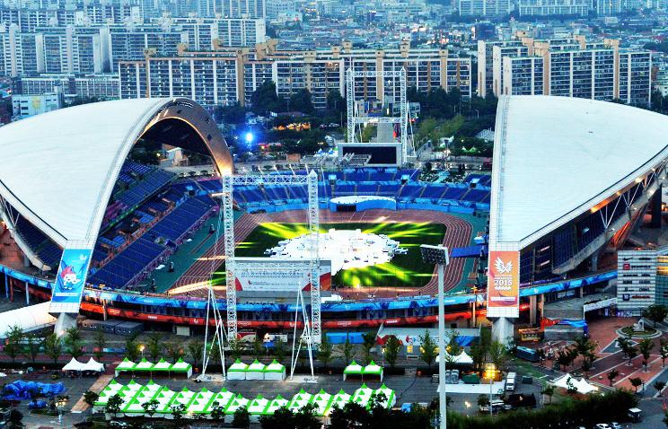 Сборная России поднялась на 4-е место в медальном зачете Универсиады, опередив команду США