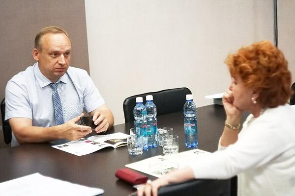 Надежда Болтенко посетила Новосибирский государственный педагогический университет