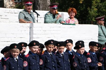 Н. Болтенко посетила торжественные линейки в образовательных учреждениях Новосибирска