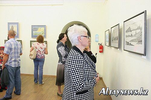 Выставка художника-сказочника