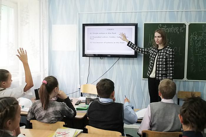 Молодой учитель: Наталья Захарова хочет доказать детям, что все они способны на многое