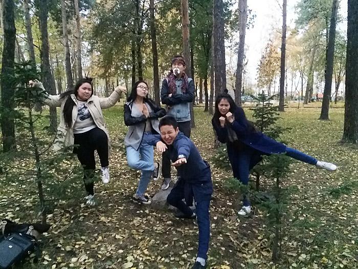 В Новосибирске студенты-якутяне провели фотокросс