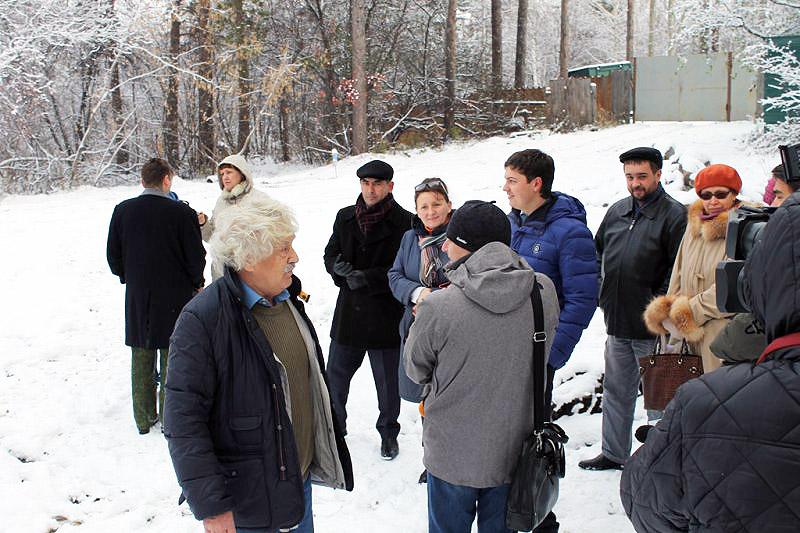 """Фронтовики"" заявили об уничтожении деревьев в дендропарке"