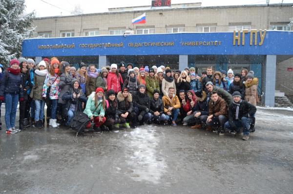 Студенты НГПУ приняли участие в антинаркотической акции