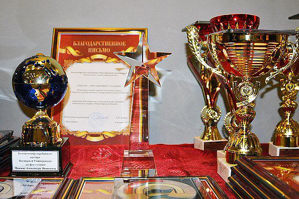 Спортсмены НГПУ - победители конкурса «Элита студенческого спорта-2015»