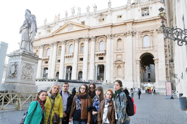 Студенты НГПУ побывали на практике в Италии