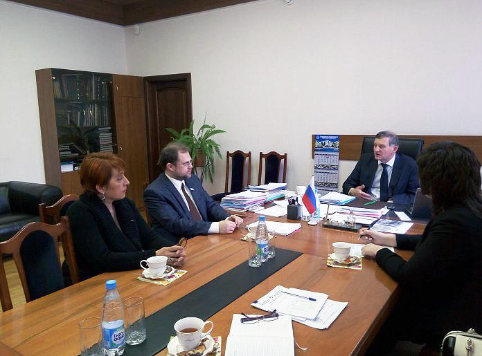 Министр профобразования Якутии провел ряд встреч с ректорами вузов Новосибирска