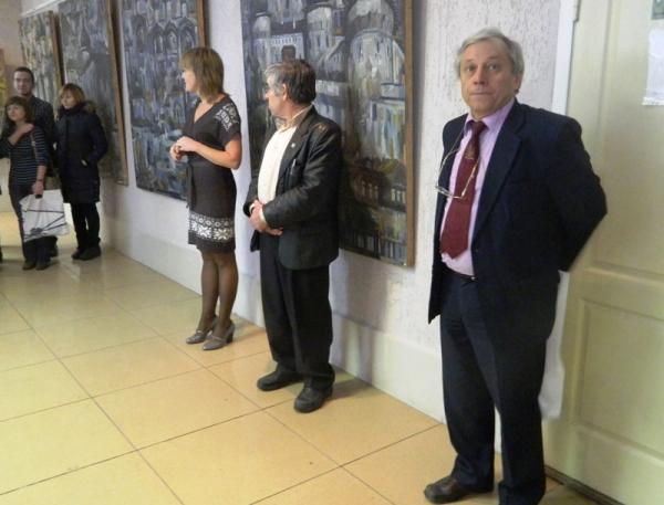 Графическая архитектура А.С. Копылова в залах Института искусств НГПУ