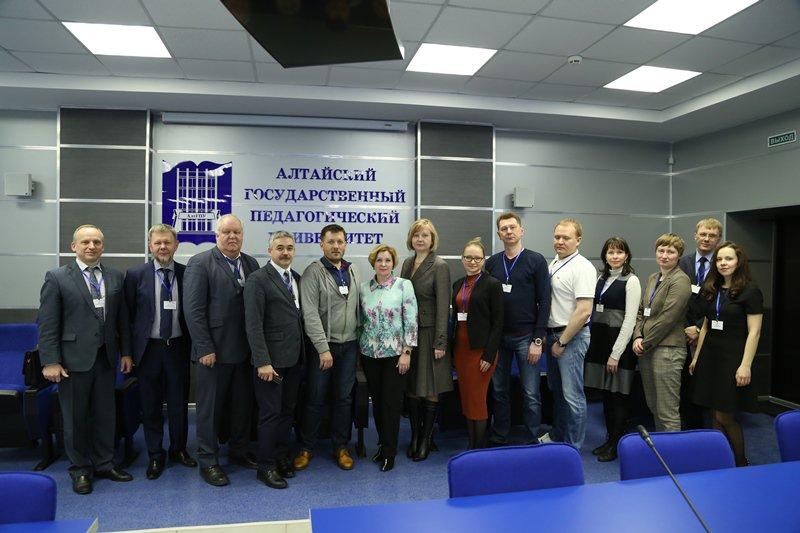 В АлтГПУ прошла встреча ректоров педагогических вузов Сибири и Урала