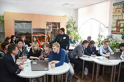 Учсиб. День первый. Преподаватели НГПУ провели мастер-классы для молодых педагогов Сибири